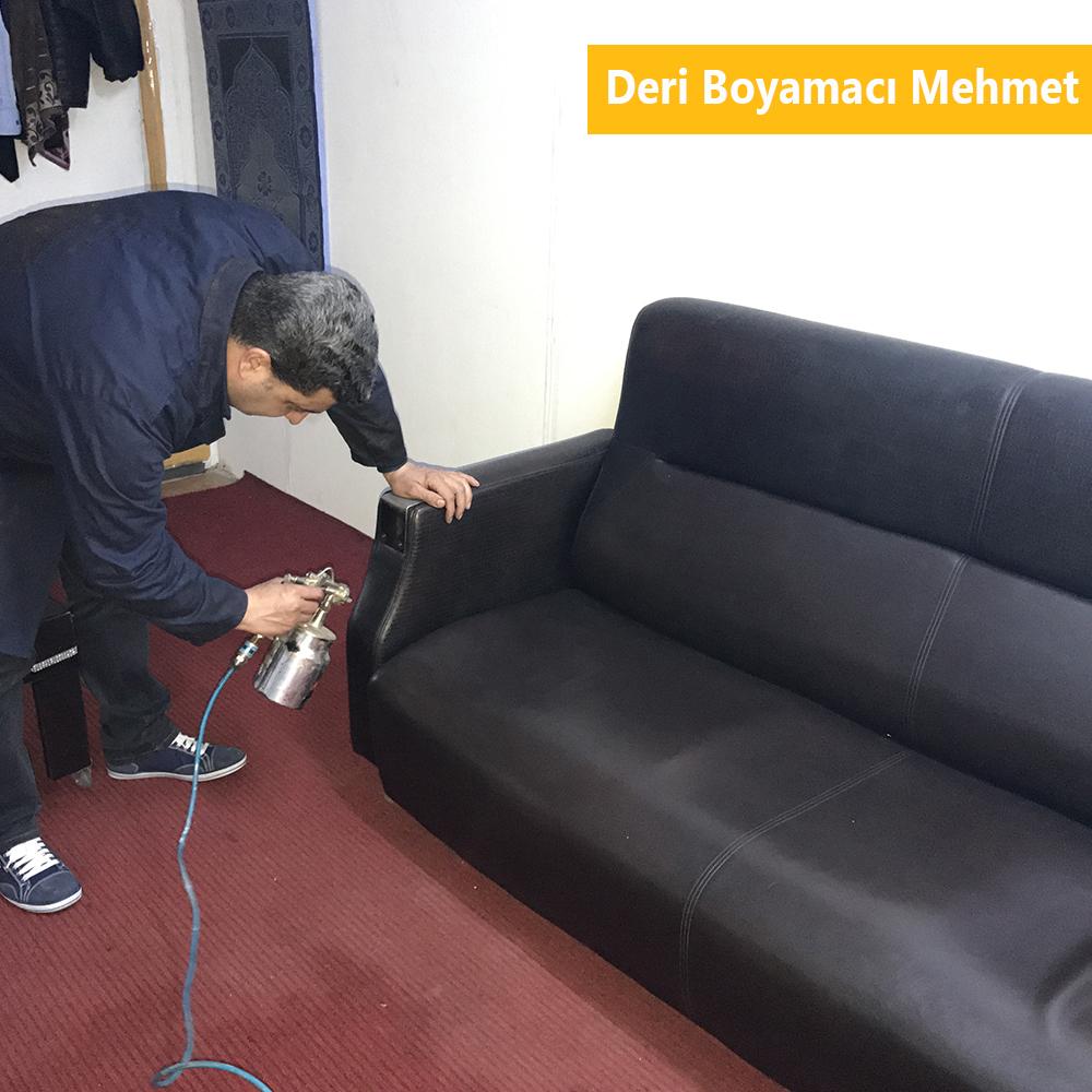 Deri Koltuk Boyama